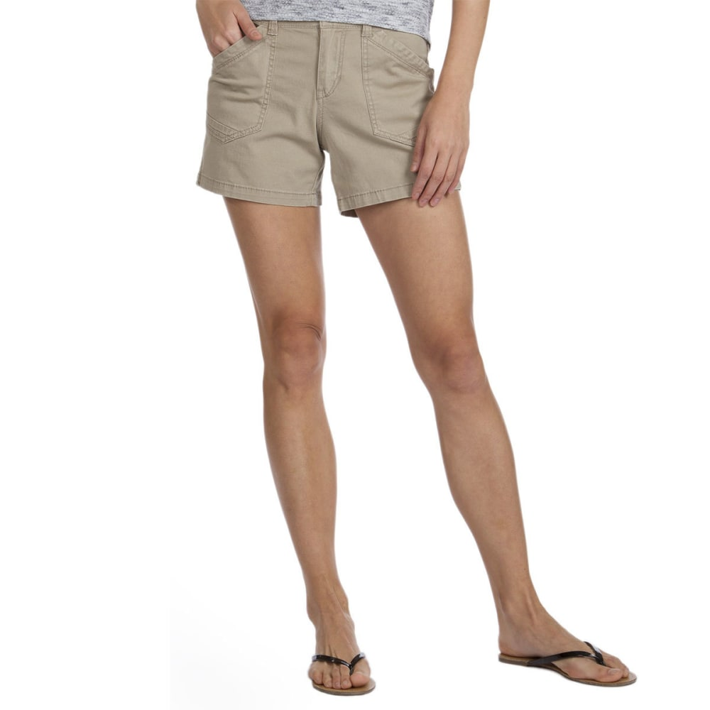 UNIONBAY Women's Alex Twill Shorts, 5 IN. - 258J-TAUPE