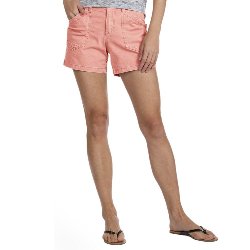 UNIONBAY Women's Alex Twill Shorts, 5 IN. - 680J-FRUIT PUNCH