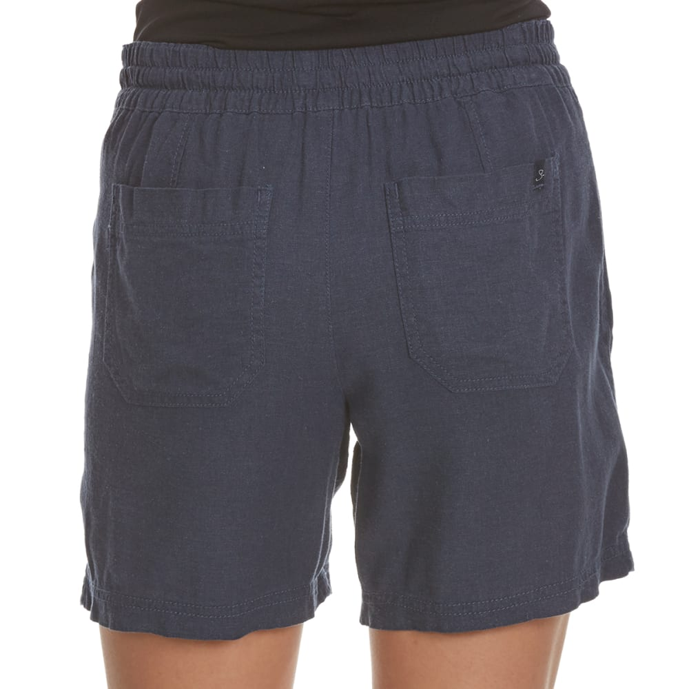 UNIONBAY Women's Sybil Solid Shorts - 439J-VINTAGE INDIGO