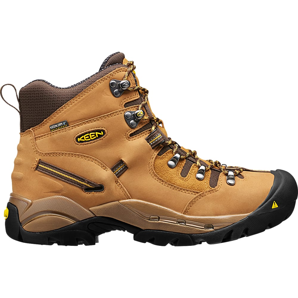 KEEN Men's Pittsburgh Waterproof Steel Toe Work Boots, Wheat - WHEAT