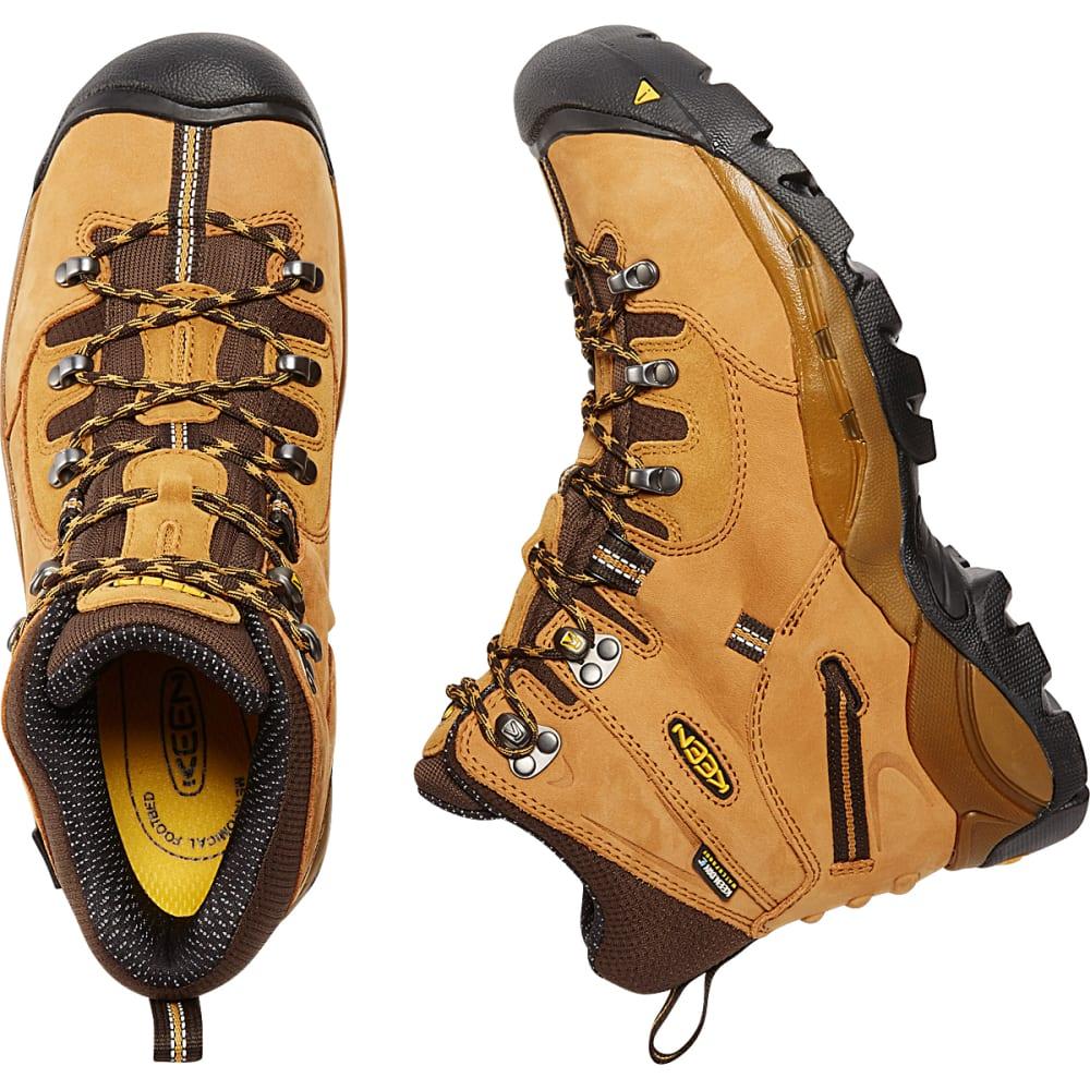 KEEN Men's Pittsburgh Waterproof Steel Toe Work Boots, Wheat - WHEAT