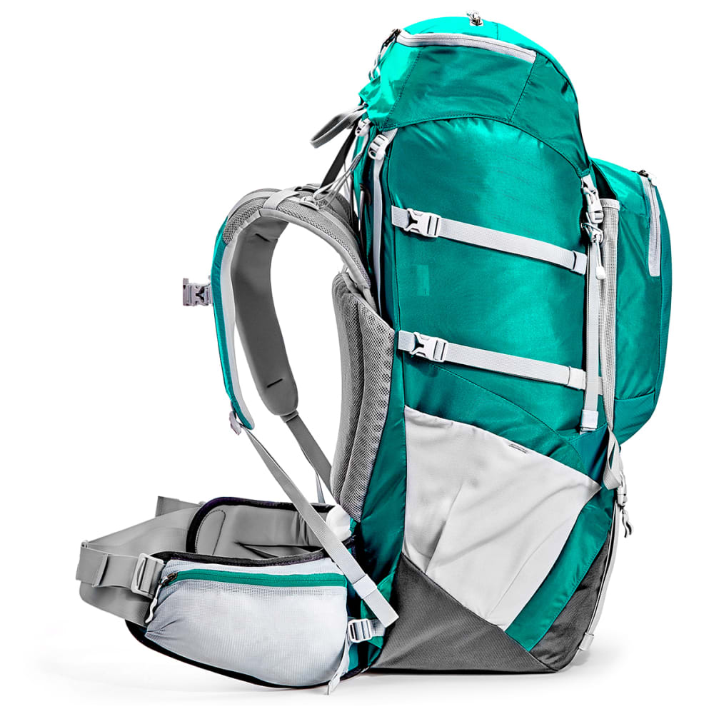 EMS Women's Long Trail 60 Backpack - COLUMBIA/TURBULENCE