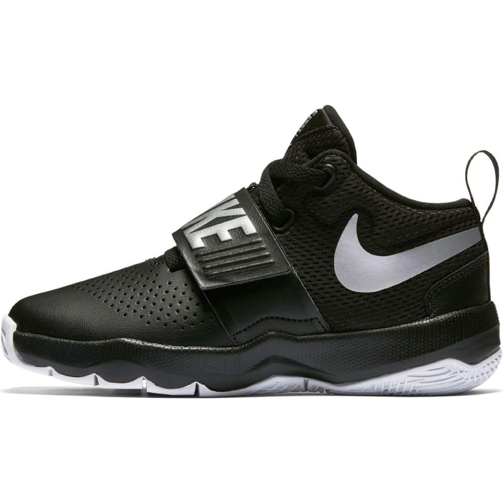 NIKE Little Boys' Team Hustle D8 Basketball Shoes - BLACK-001