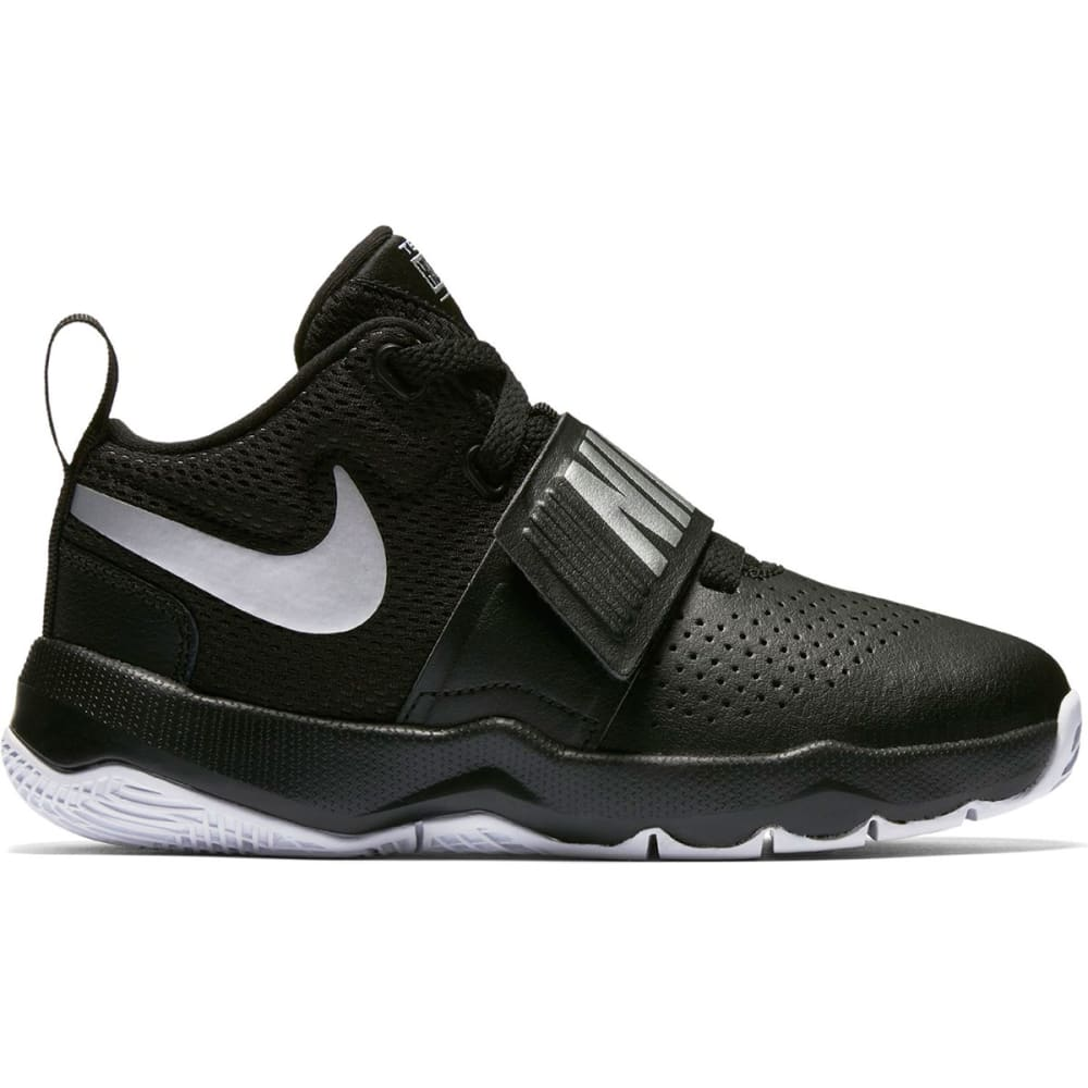 NIKE Little Boys' Team Hustle D8 Basketball Shoes - BLACK-001