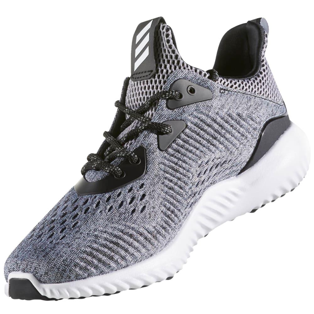 ADIDAS Women's AlphaBounce EM Running Shoes - BLK/WHT/BLK