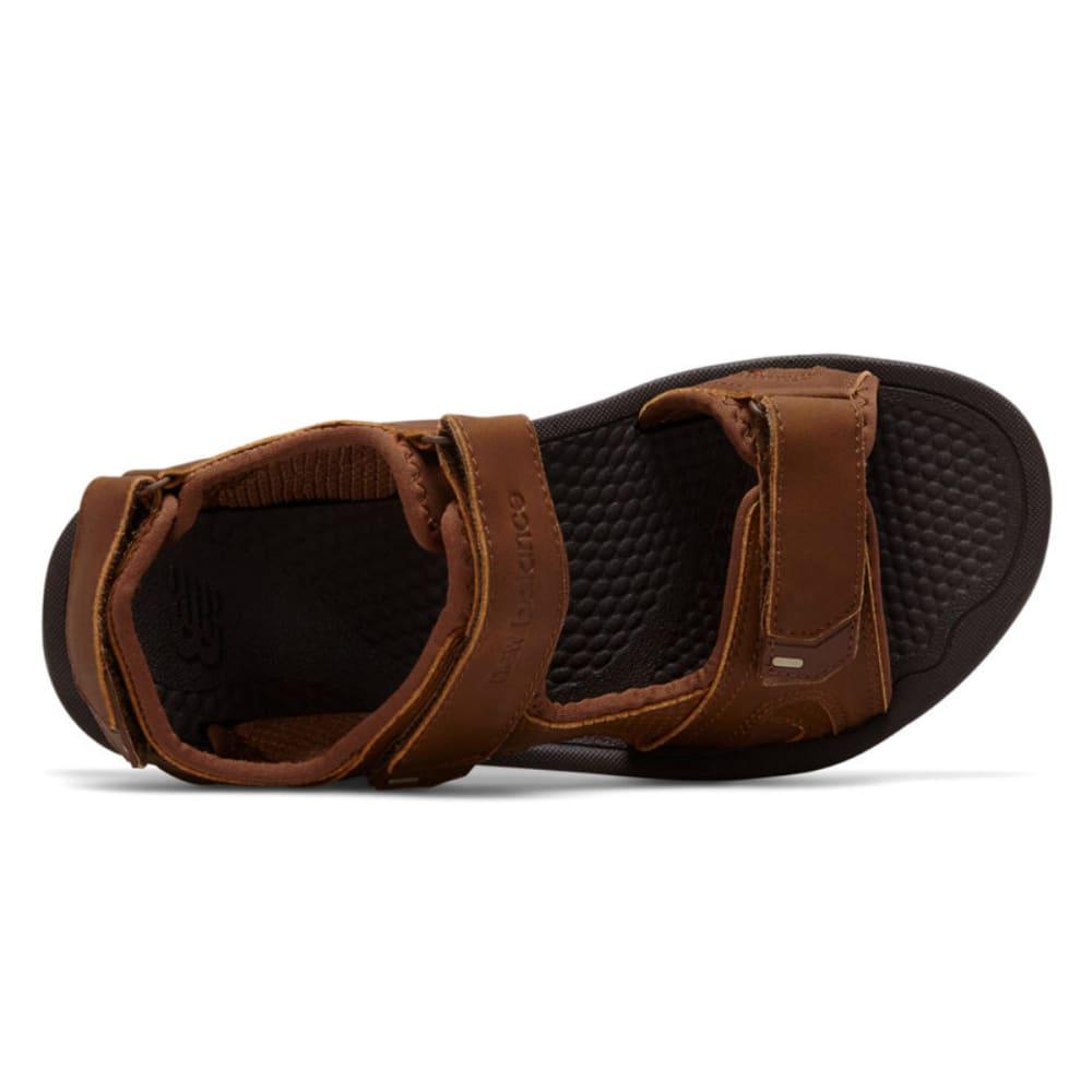 NEW BALANCE Men's PureAlign Recharge Sandals, Wide Width - BROWN