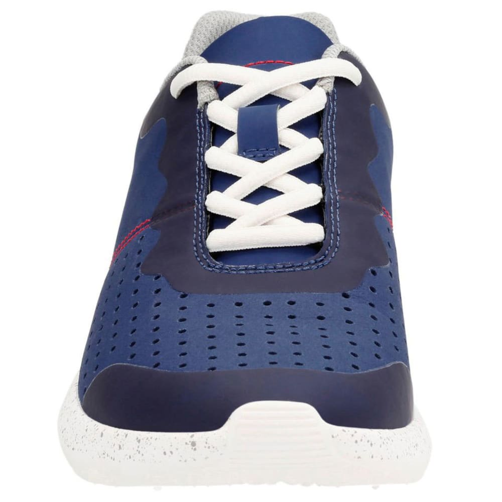 CLARKS Men's Torset Vibe Canvas Sneakers, Blue - VIBE BLUE
