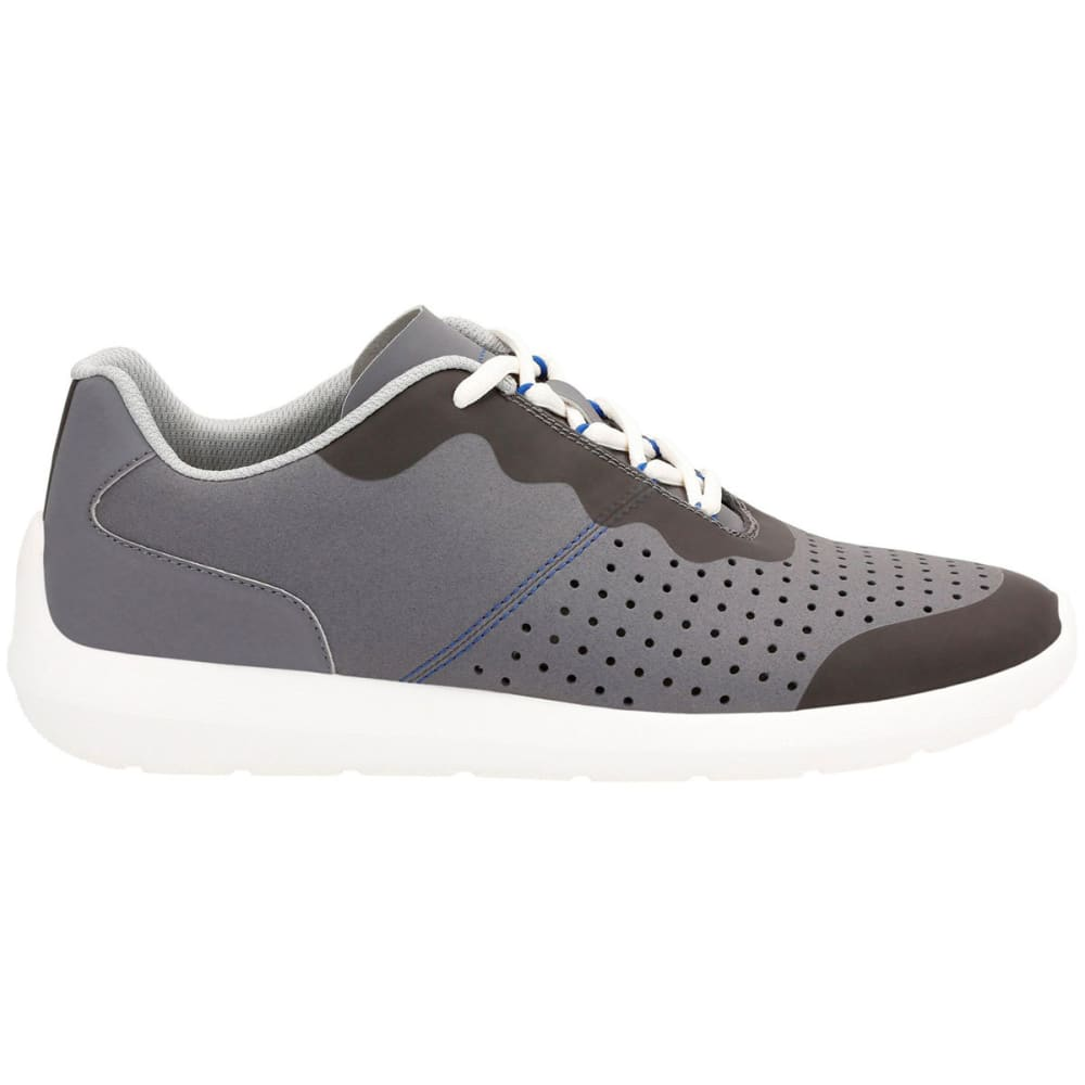 CLARKS Men's Torset Vibe Canvas Sneakers, Grey - VIBE GREY