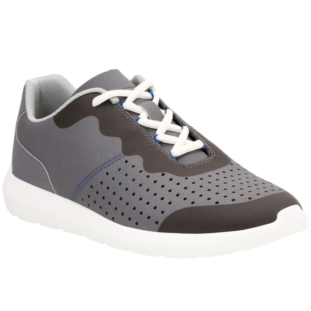 Clarks Men's Torset Vibe Canvas Sneakers, Grey