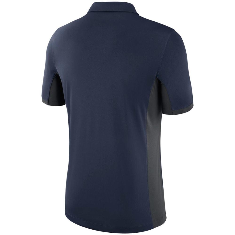 UCONN Men's Nike Dry Polo Short Sleeve Shirt - NAVY