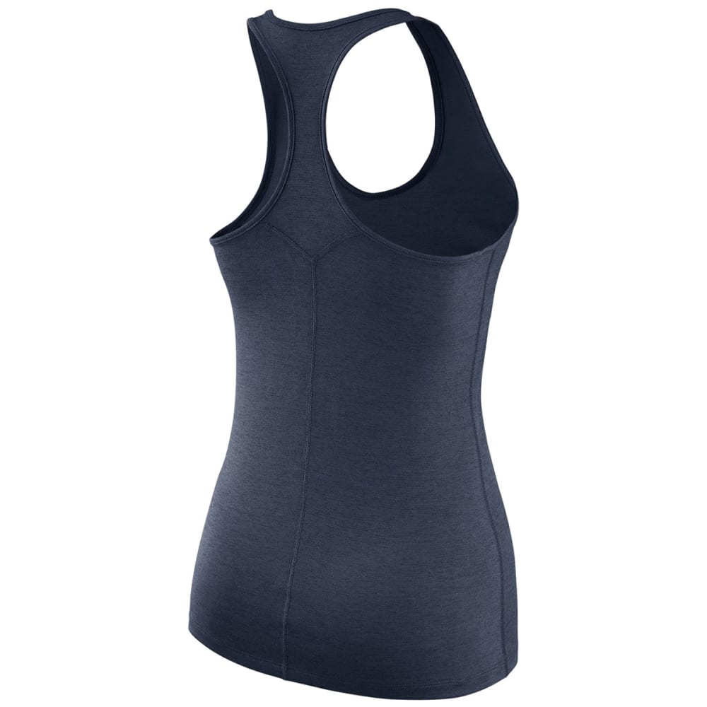 NIKE Women's UCONN Dry Touch Tank - NAVY HEATHER