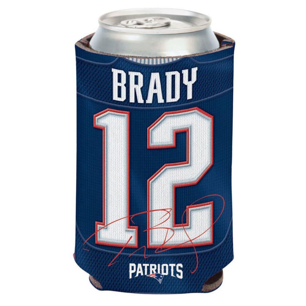 NEW ENGLAND PATRIOTS 12 oz. Brady Player Can Cooler - BLUE