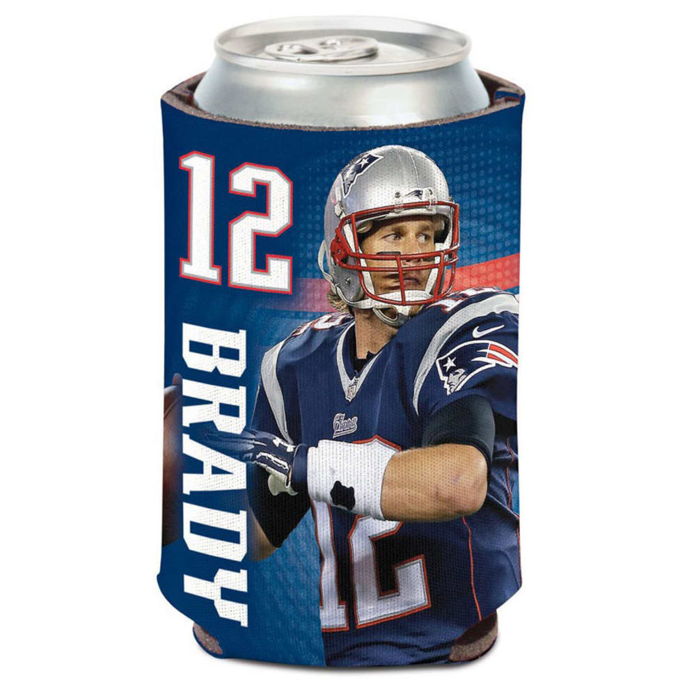NEW ENGLAND PATRIOTS 12 oz. Brady Player Can Cooler NO SIZE