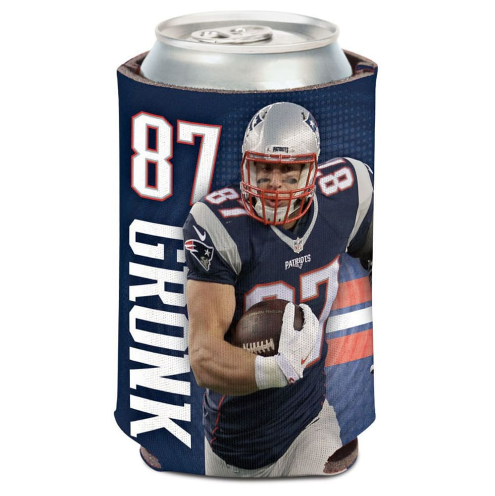 NEW ENGLAND PATRIOTS 12 oz. Gronkowski Player Can Cooler NO SIZE