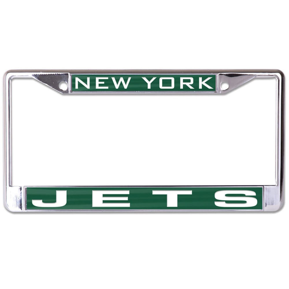 NEW YORK JETS Inlaid License Plate Frame - GREEN