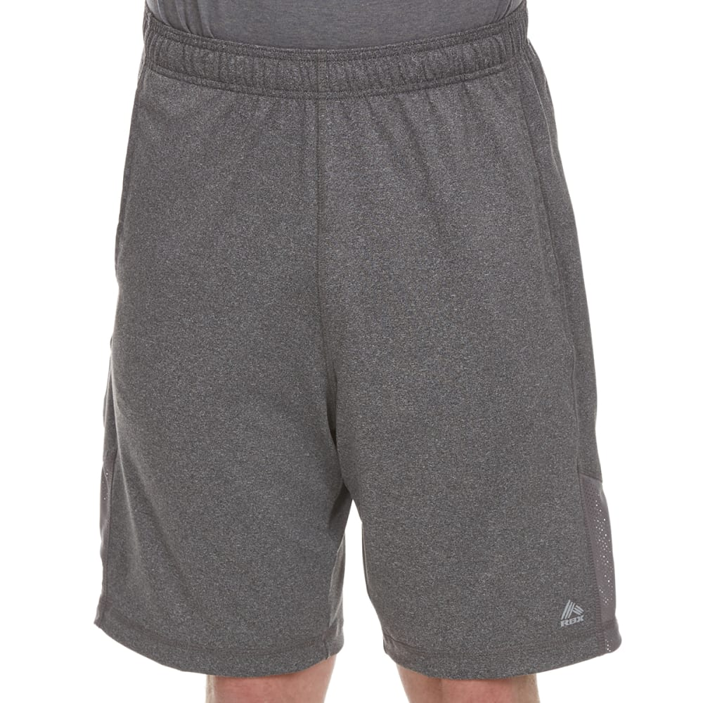 RBX Men's 9 in. Poly Shorts with Self-Fabric Insert S