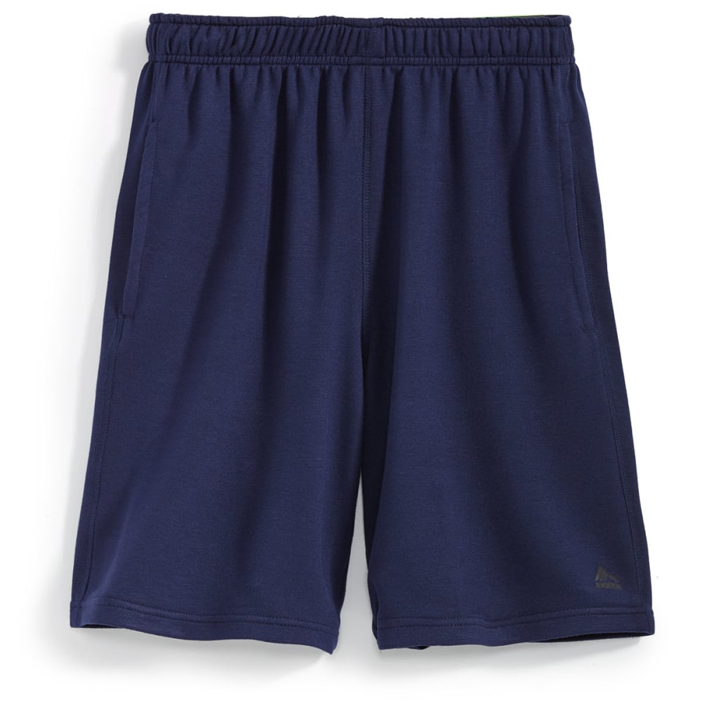 RBX Men's 9 in. Rayon Heather Shorts - NEW NAVY HEATHER