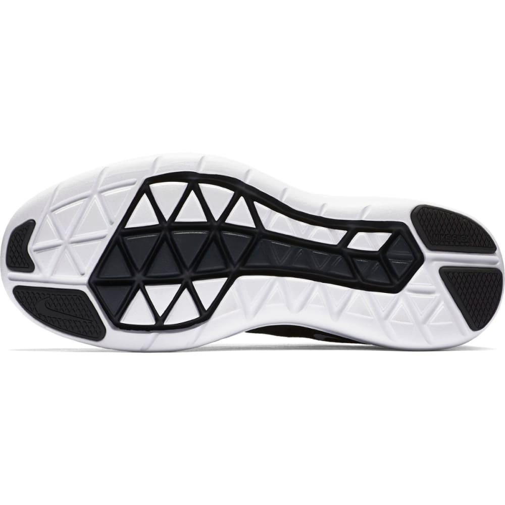 NIKE Women's Flex 2017 RN Running Shoes - BLK/WHT/ANTHR