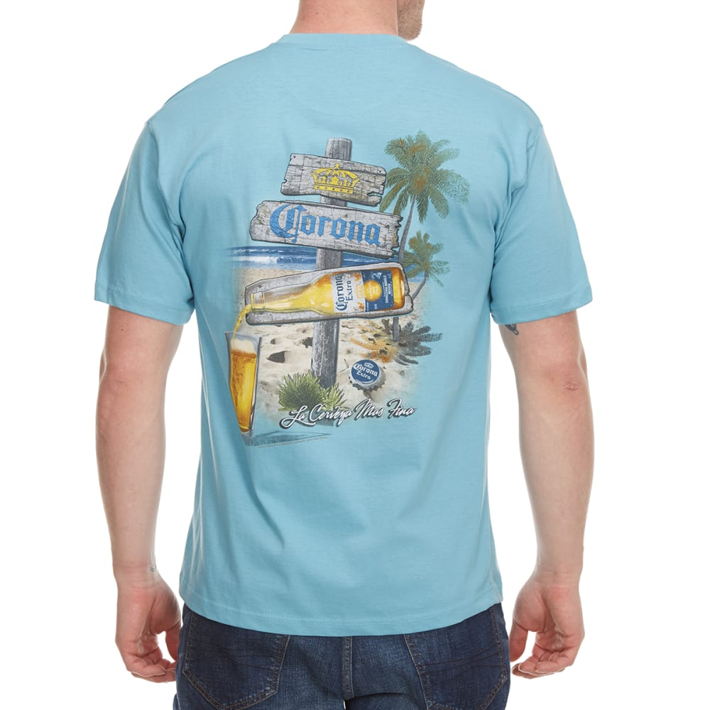 NEWPORT BLUE Men's Afternoon Post Short-Sleeve Tee - CLOUD BLUE - 477