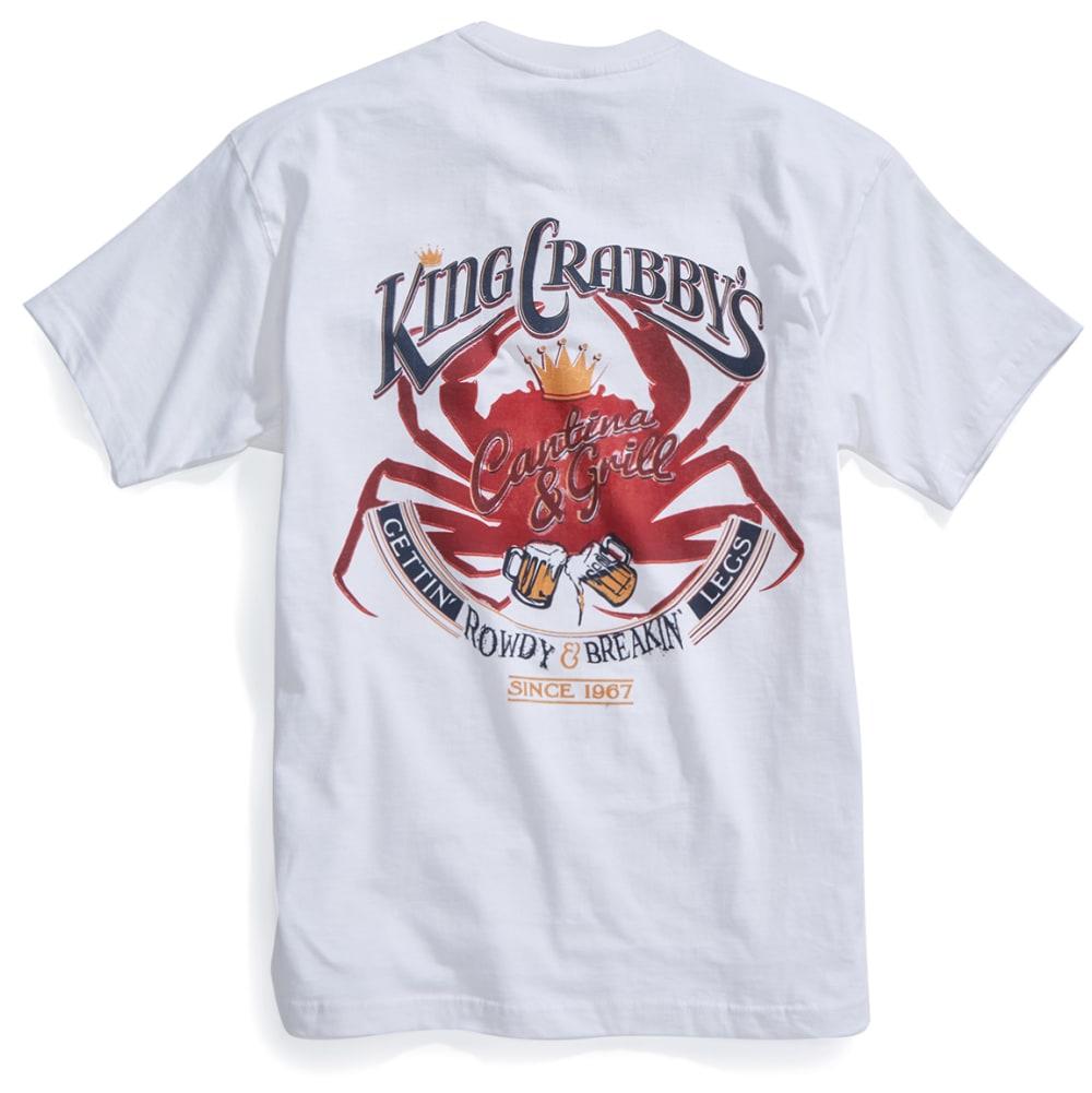 NEWPORT BLUE Men's King Crabby's Short-Sleeve Tee - WHITE - 120