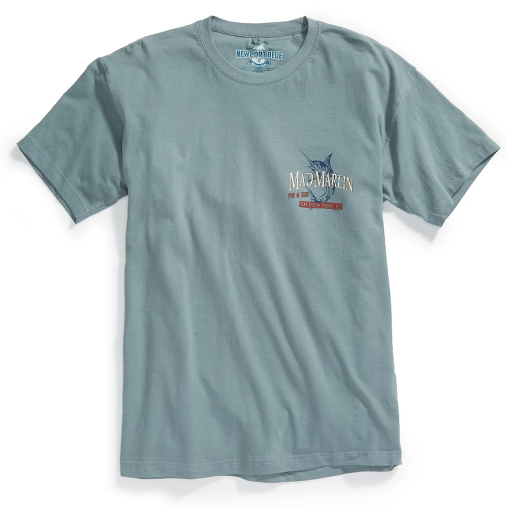NEWPORT BLUE Men's Mad Marlin Short Sleeve Tee - TROOPER- 460