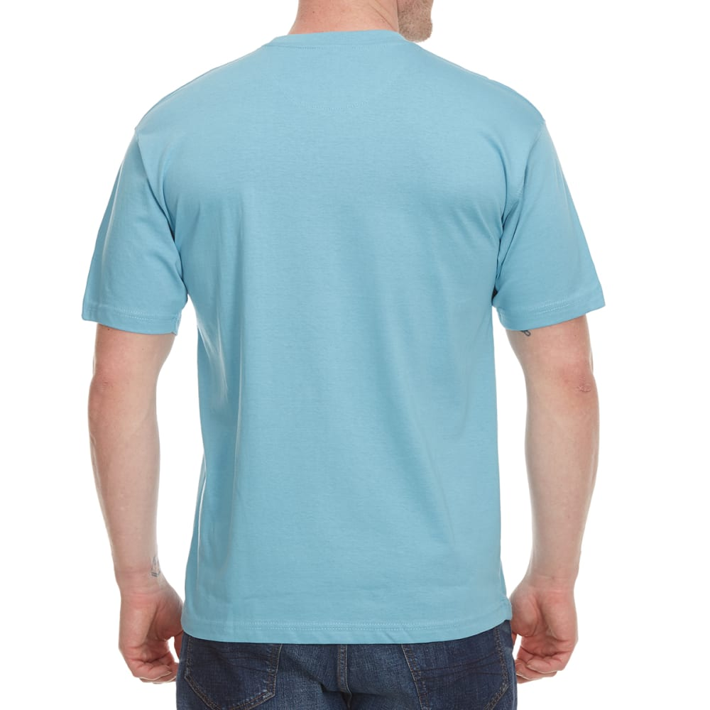 NEWPORT BLUE Men's Set For Life Short Sleeve Tee - CLOUD BLUE - 477