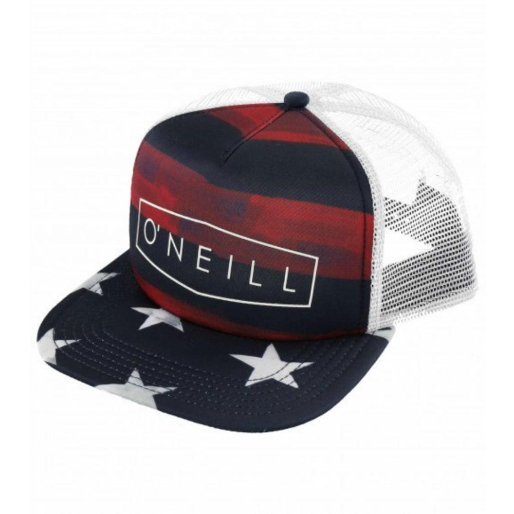 O'NEILL Guys' Freedom Trucker Hat - NAVY