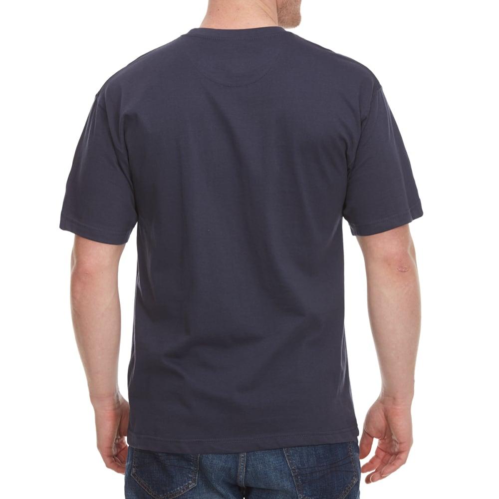 NEWPORT BLUE Men's Tropi-Gal Paradise Short Sleeve Tee - INK- 025