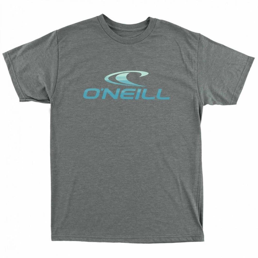 O'NEILL Guys' Hemisphere Short-Sleeve Tee - MED HEATHER GREY