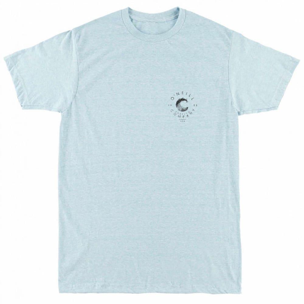 O'NEILL Guys' Beachbreak Short-Sleeve Tee - AQUA HEATHER