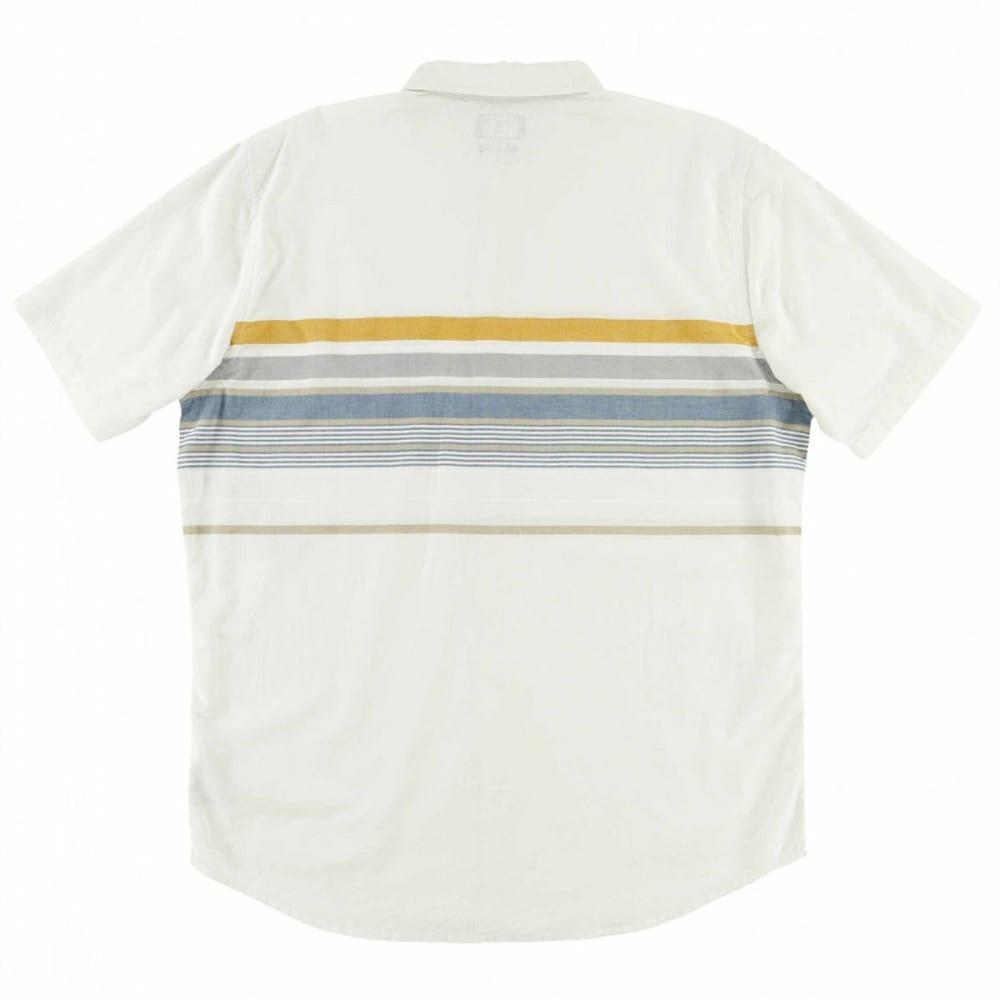 O'NEILL Guys' Waters Woven Short-Sleeve Shirt - FOG