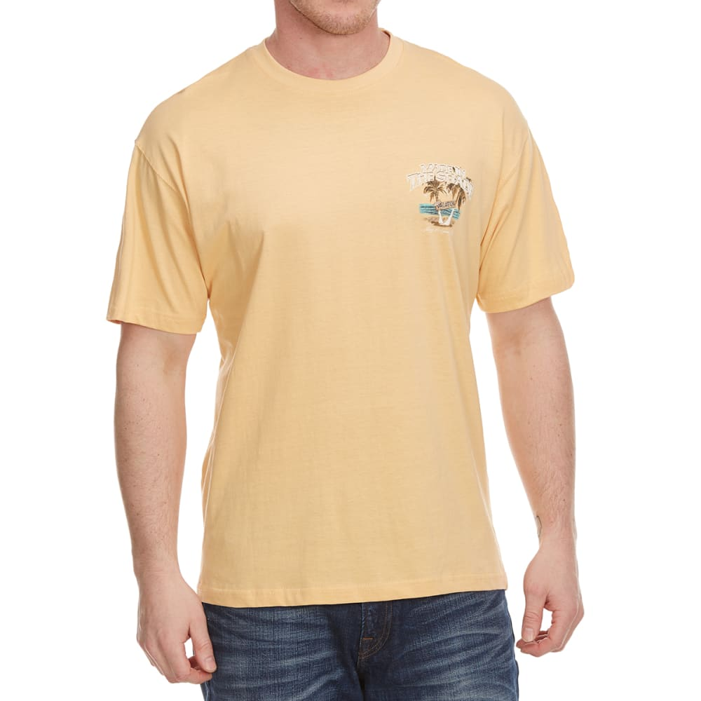 NEWPORT BLUE Men's Made In The Shade Hut Short Sleeve Tee - PALE ALE - 714