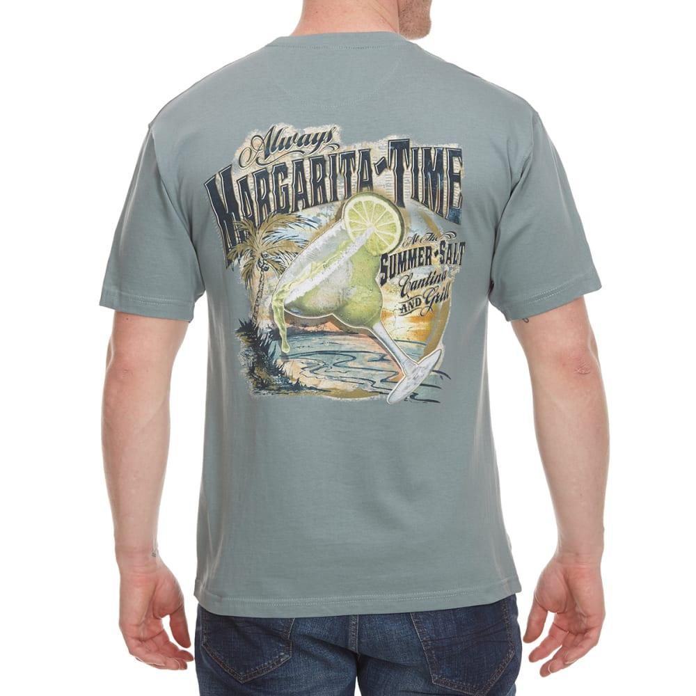 NEWPORT BLUE Men's Margarita Time Cantina Short Sleeve Tee - TROOPER- 460