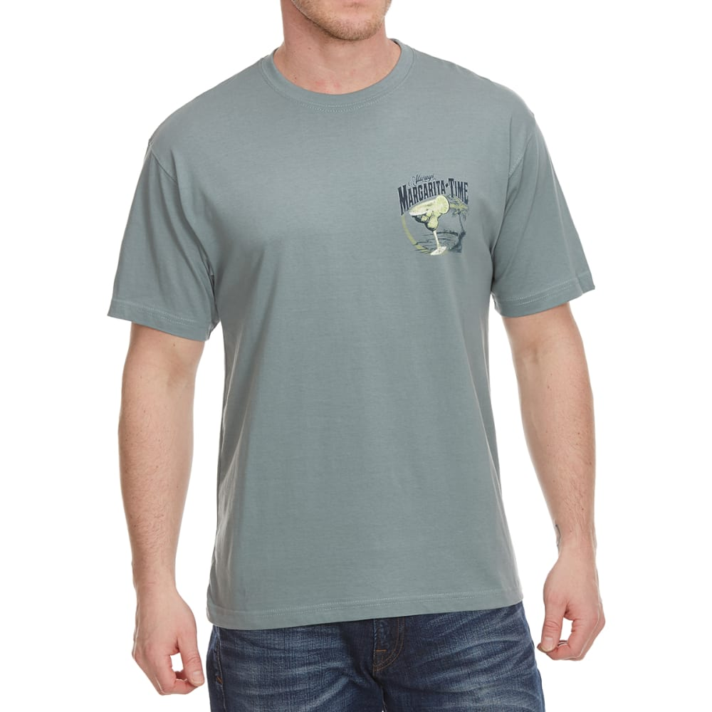 NEWPORT BLUE Men's Margarita Time Cantina Short Sleeve Tee - TROOPER- 460