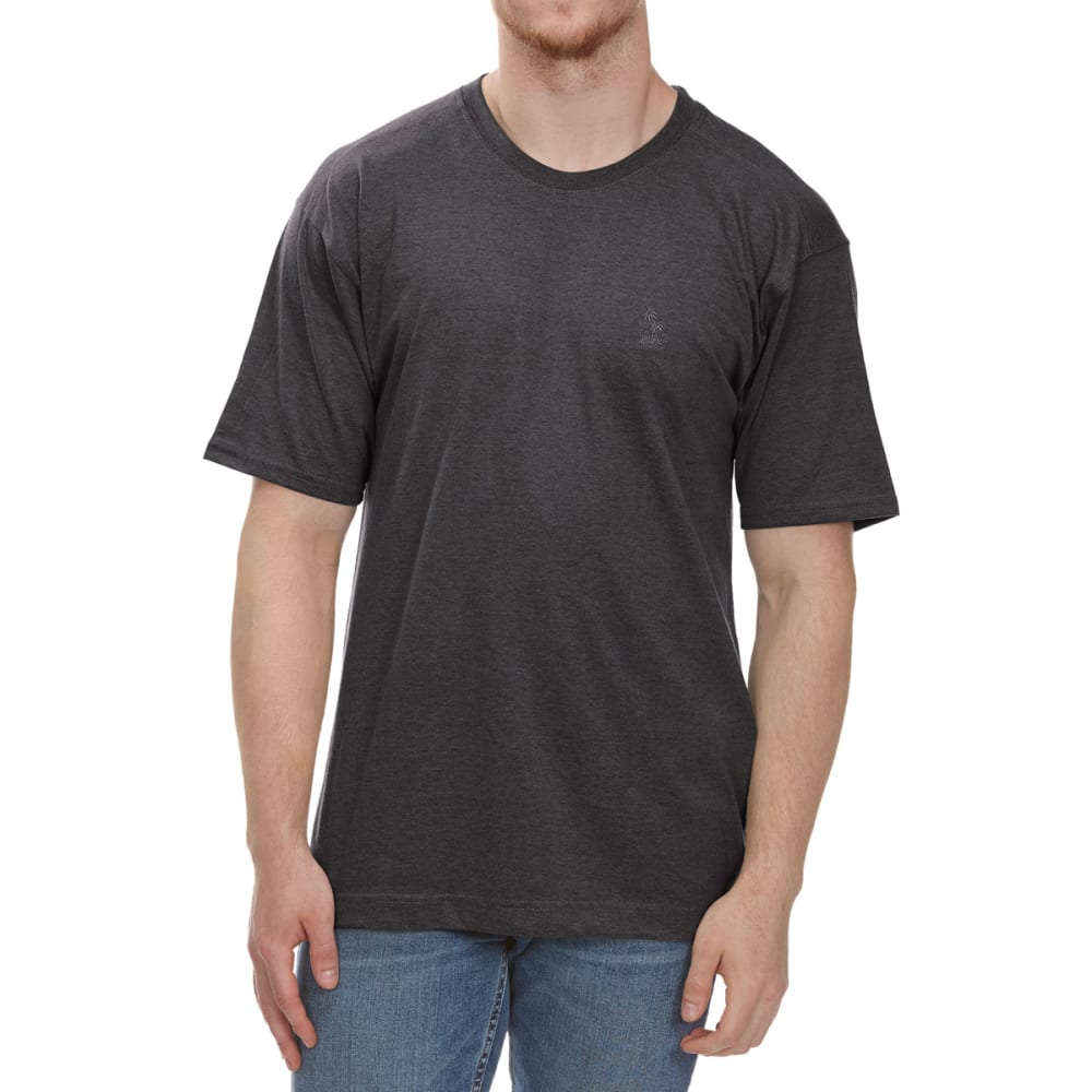 NEWPORT BLUE Men's Embroidered Short-Sleeve Tee - HTR CHARCOAL - 022