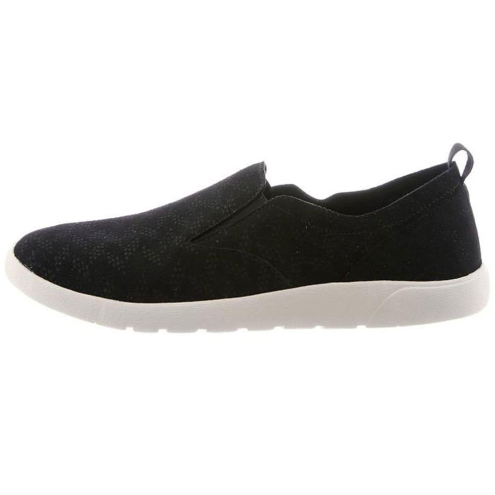 BEARPAW Women's Faye Slip-On Casual Shoes, Black - BLACK