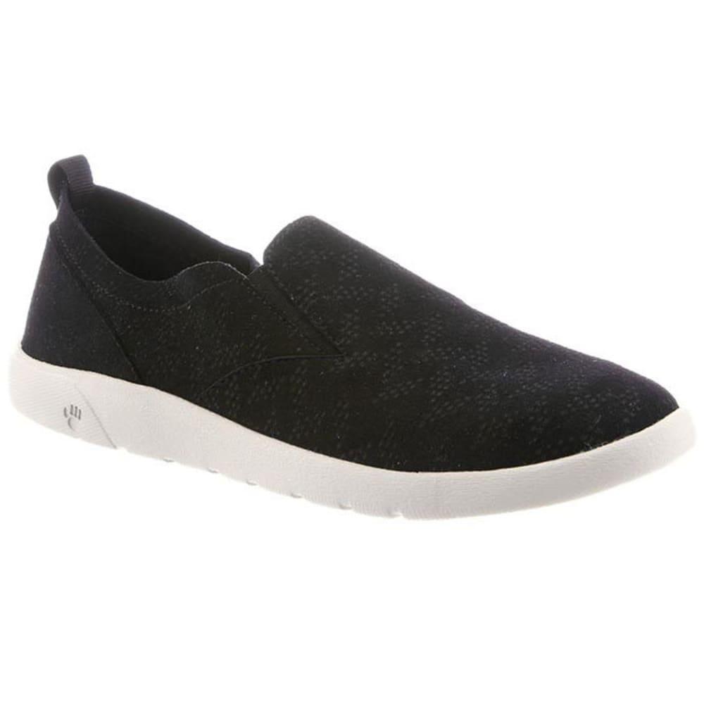 BEARPAW Women's Faye Slip-On Casual Shoes, Black 6