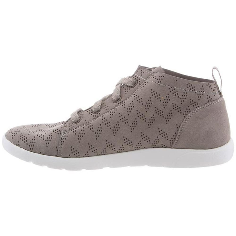 BEARPAW Women's Gracie Perfect High-Top Sneakers, Dove Grey - GREY