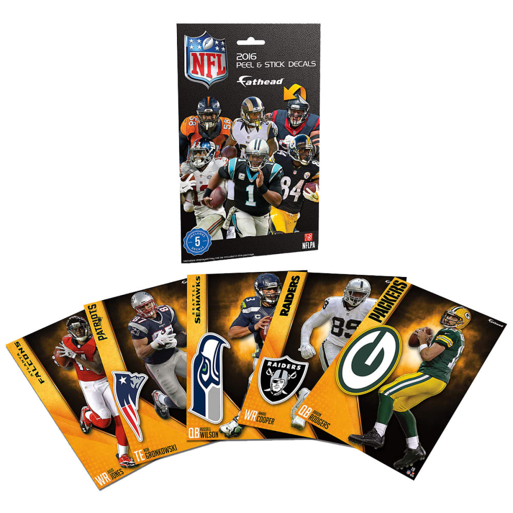 FATHEAD NFL 2016 Tradeables Decal Pack - NO COLOR