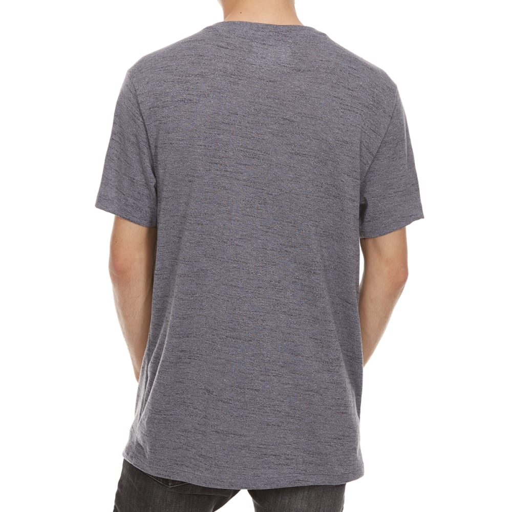 RETROFIT Guys' Textured Twist V-Neck Short-Sleeve Tee - MAGNET