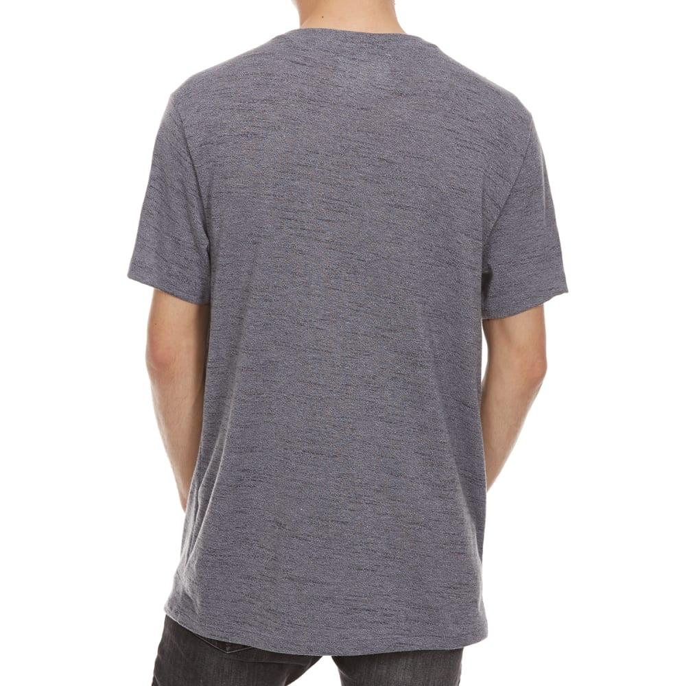 RETROFIT Guys' Textured Twist V-Neck Short-Sleeve Tee - MAGNET
