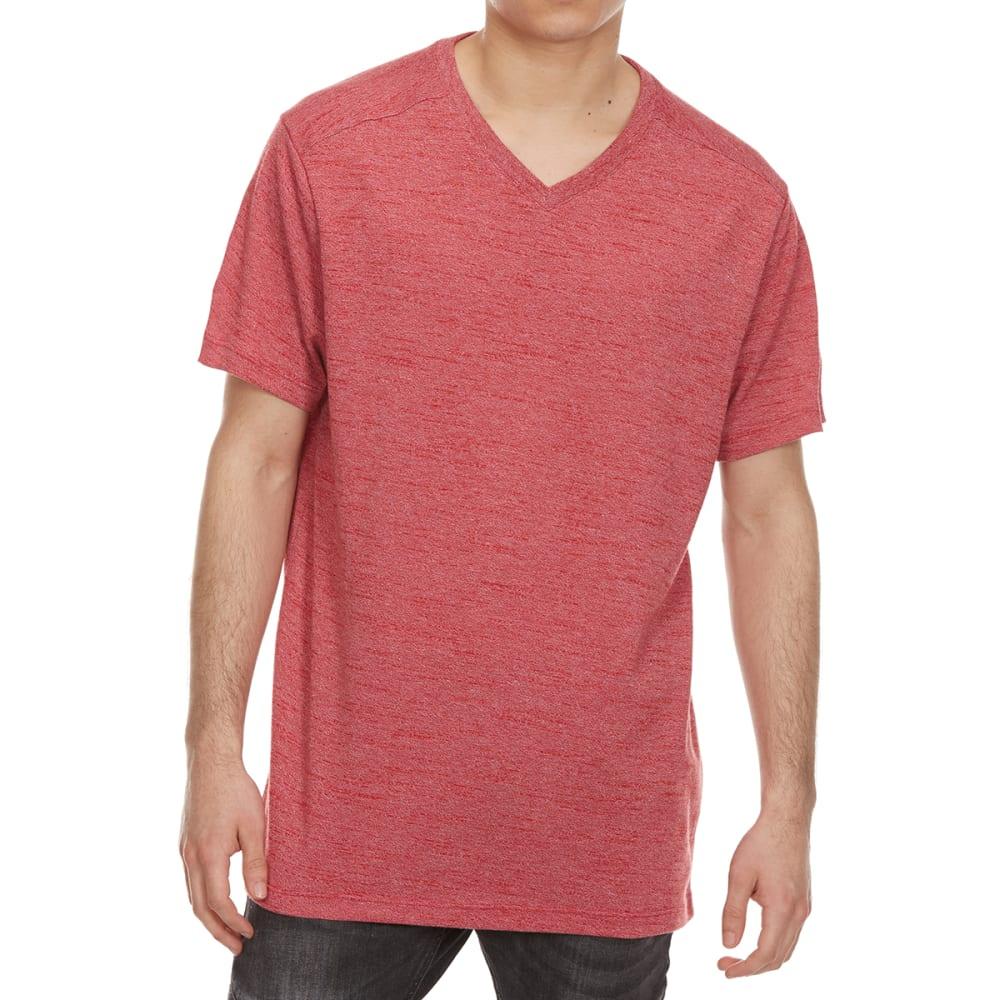 RETROFIT Guys' Textured Twist V-Neck Short-Sleeve Tee S