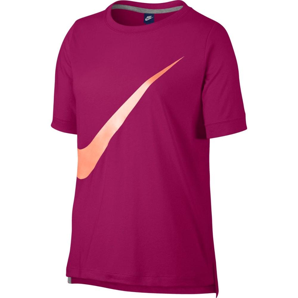 NIKE Women's NSW Prep Short-Sleeve Top S