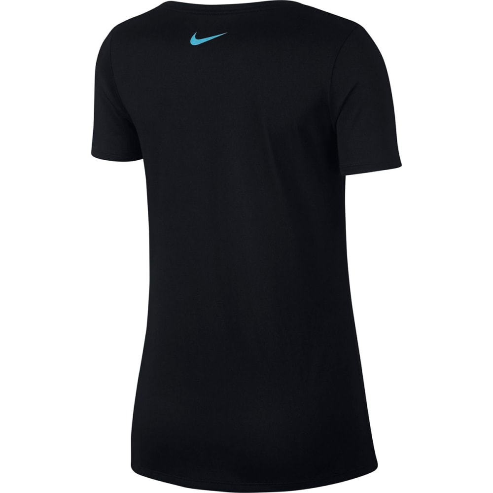 NIKE Women's Legend Dry Training T-Shirt - BLACK-010