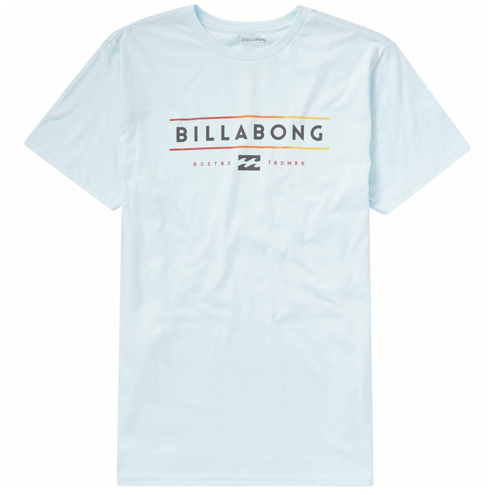 Billabong Guys Dual Unity Short-Sleeve Tee - Blue, S