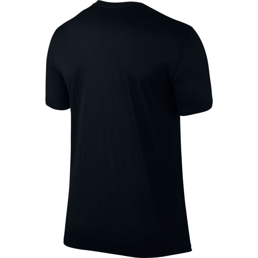 NIKE Men's Dry Running Shirt - BLACK/GAME RYL-010