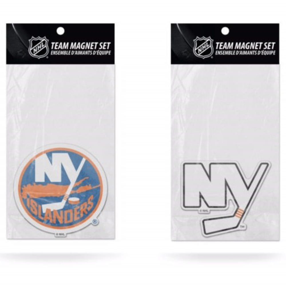 NEW YORK ISLANDERS Magnet, 2 Pack NO SIZE