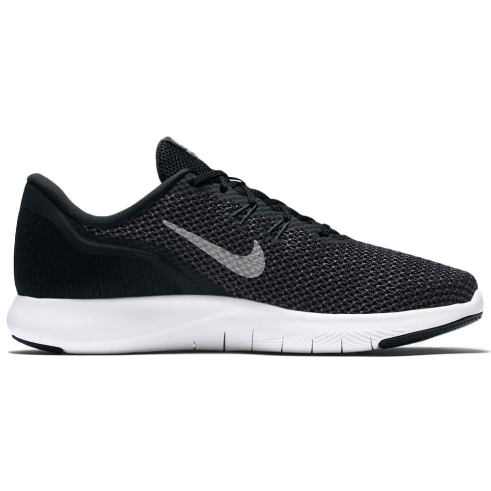 NIKE Women's Flex Trainer 7 Training Shoes - BLACK/WHITE -001