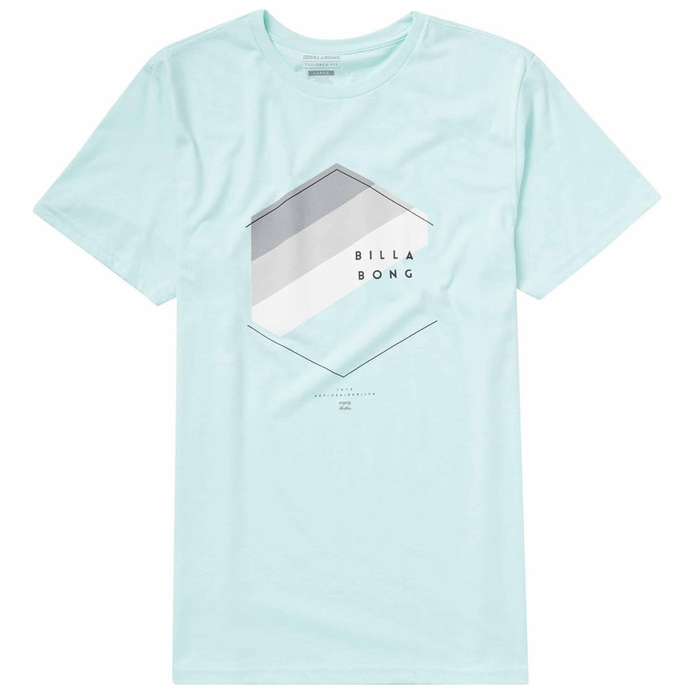 BILLABONG Guys' Enter Short-Sleeve Tee - ICE HEATHER