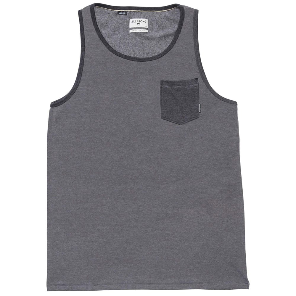 Billabong Guys Zenith Tank Top - Black, M
